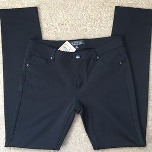 NWT Active USA Black Pant-Style Leggings, M/L